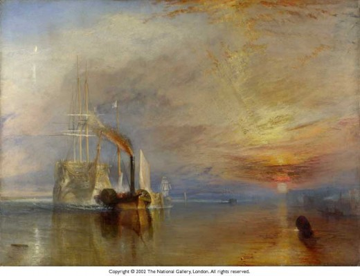 The Fighting Temeraire  National Gallery London.