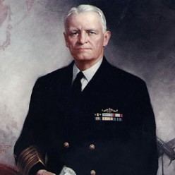 Who was Chester W Nimitz?