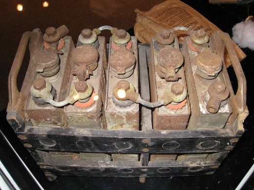 A Vintage Car Battery (Photo from Flickr)