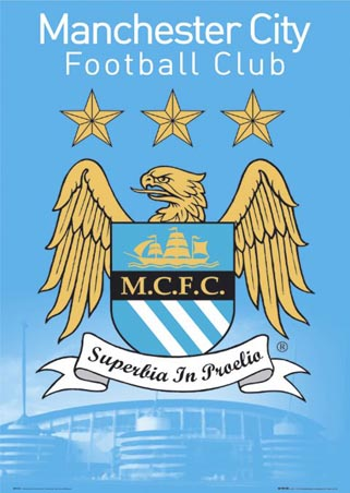 Manchester City Football Club Team Crest