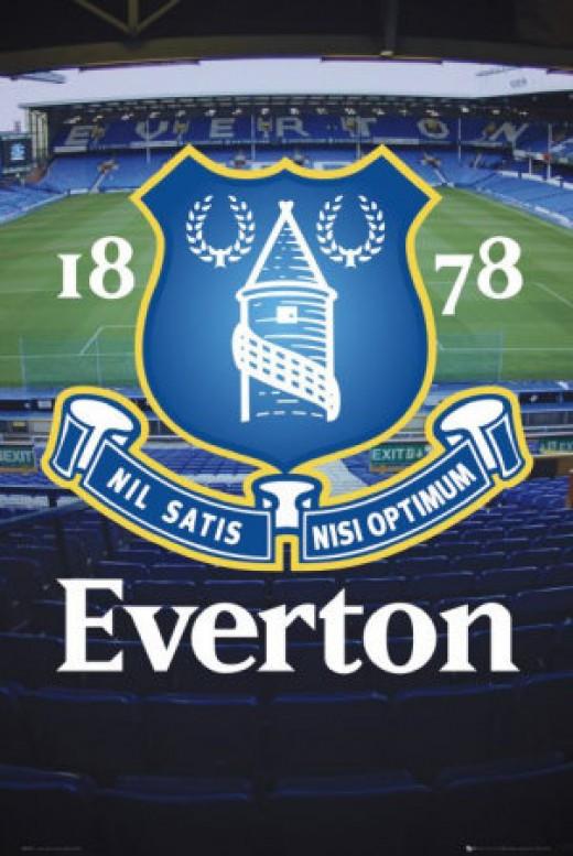 Everton Football Club Team Crest