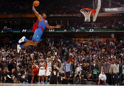 A dunk is only as spectacular when you combined strength, power and flair into them.