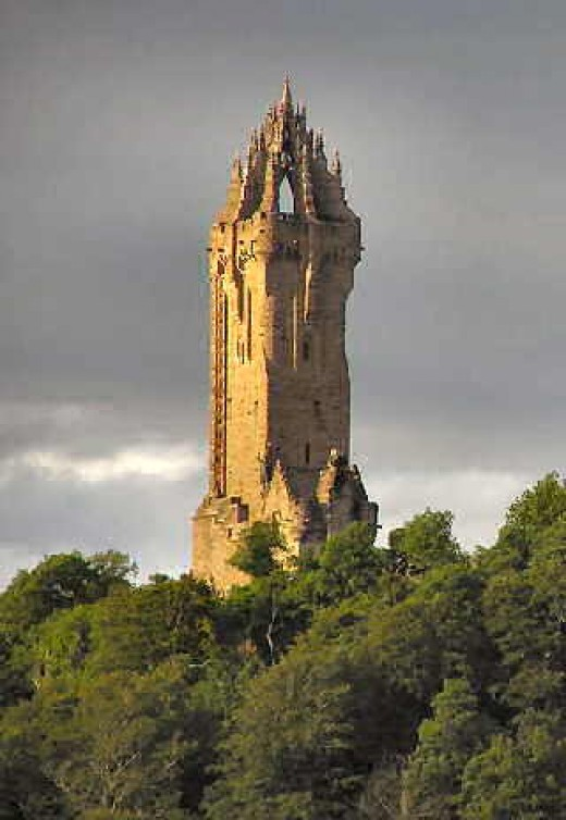 the Wallace monument martinfrost.ws