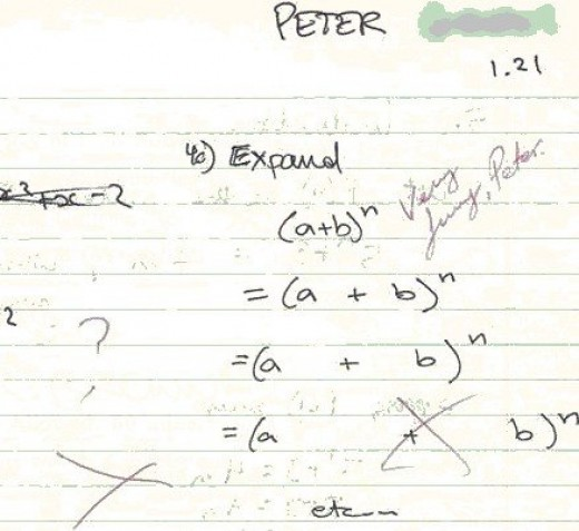 Funny Pictures: Exam Answers
