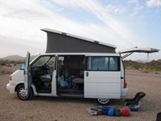 A Road Trip with Kids - Packing the Campervan