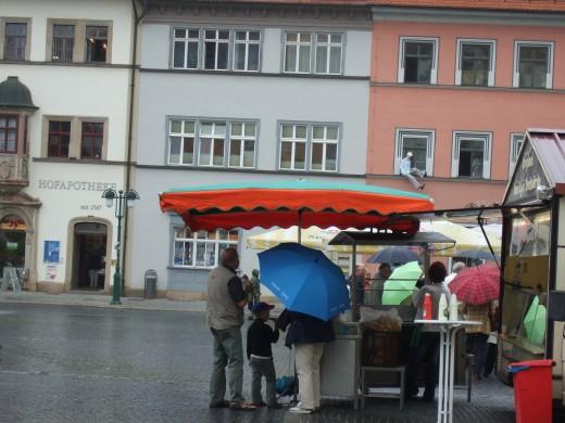 Market place Weimar