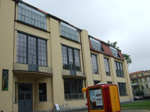 The original Bauhaus which is now a university