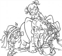 Alvin and the Chipmunks Kids Coloring Pages Chipettes Free Colouring Pictures