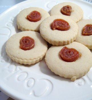 Cuban jam-dotted shortbread from bakingbites.com