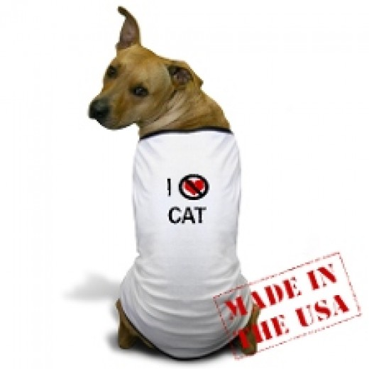 Dogs Hate Cats T-shirt
