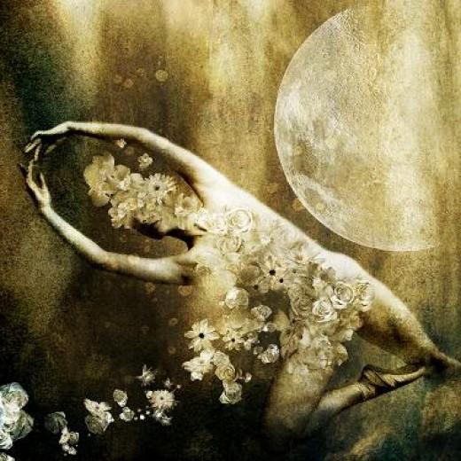 """Moon Dancer""    by moonywolf"