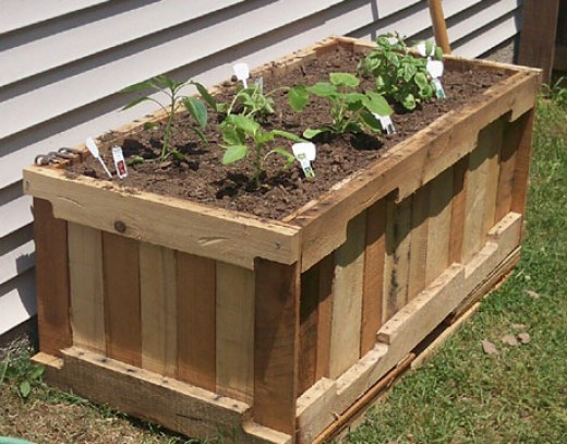 Many materials can be used to create a raised bed garden. Makes sure that the material will last.