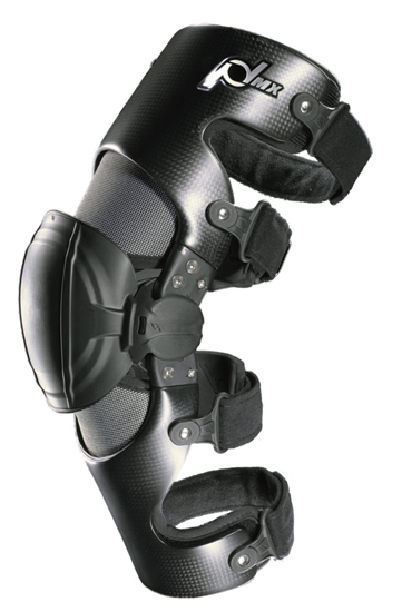 Metal knee braces for dirt biking and fox racing
