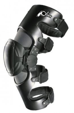 Metal knee braces for dirt biking and fox racing