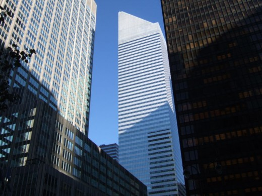 Citigroup Center - Public Domain Image by Trxr4dks.