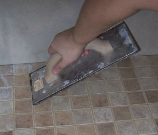 grout tile