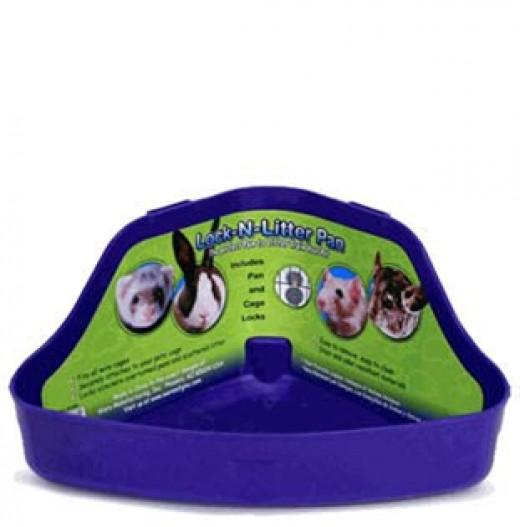A Rabbit Litter Box!
