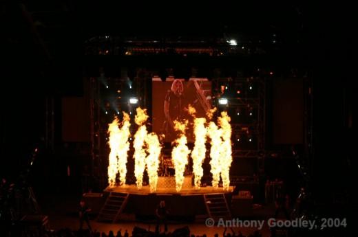 Nickelback Live At Summerfest 2004 © Anthony Goodley - 2004