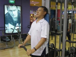Cable Equipment for Muscle Toning