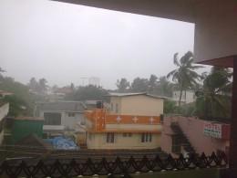 heavy Rain in cochin