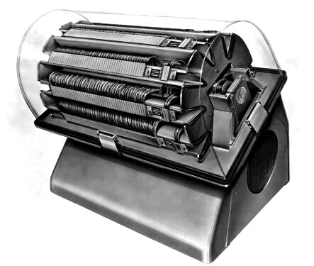 Magnetic drum storage device by IBM