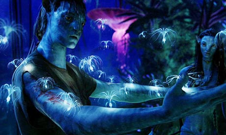 3D IMAX experience: Avatar (glow in the dark plants)
