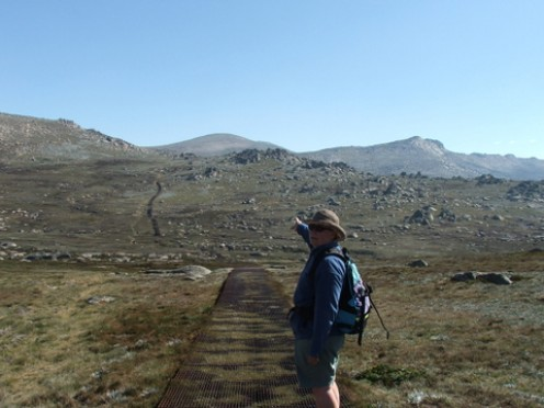 Mt Kosciusko, Australia's Highest Peak: Photo: Lissie