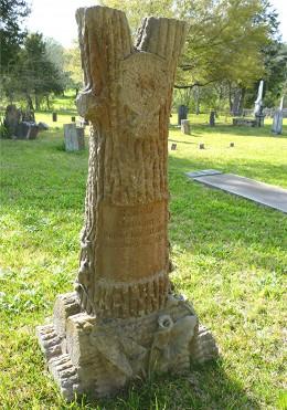 Woodmen gravestone
