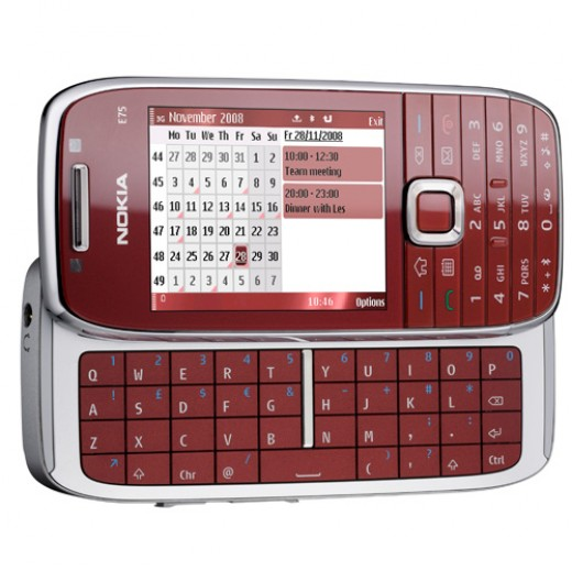 Nokia E75 packed with 3G technology for better media transmission and a lot of advanced features.
