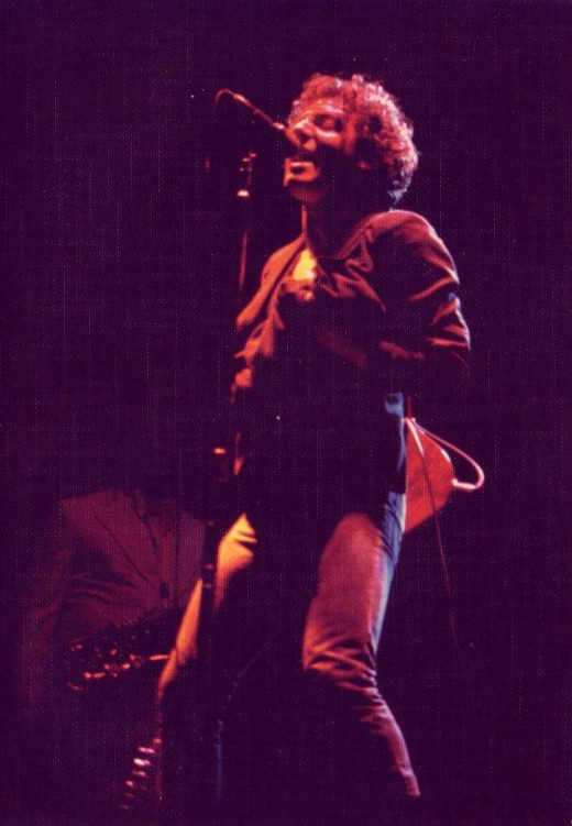 Bruce Springsteen in '77. My first Bruce show and after 3 hours I knew I'd be back. I have