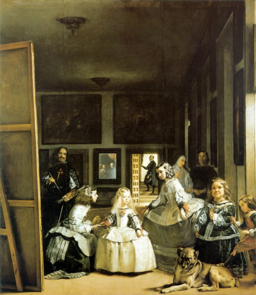(The Maids of Honor) by Diego Velazquez