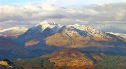Ben Vorlich is a mountain located in the southern part of the Highlands of Scotland.