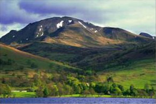 "Another view of Ben Voirloch, called ""Ben Vorlich"" at www.goscot.co.uk"