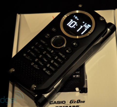 Casio G'zOne Brigade C741