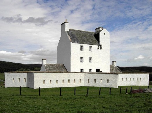 Corgarff Castle (court. Wikipedia)