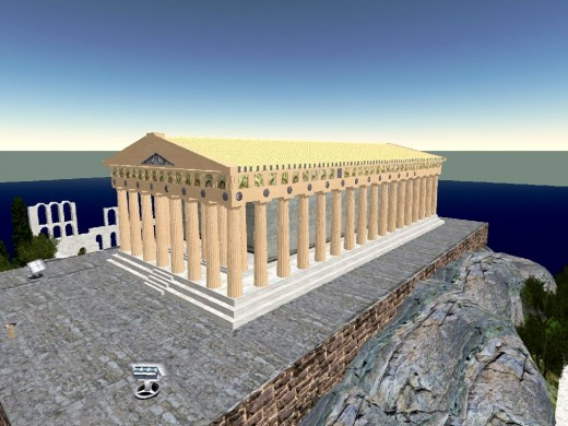 Ancient Greece in Second Life