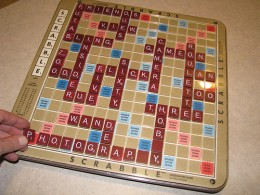 Scrabble is a popular educational toy.