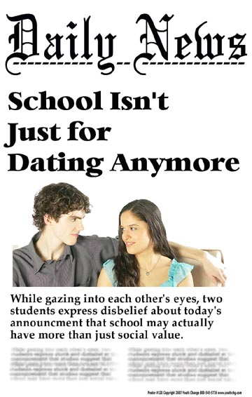Professional development courses can even turnaround chronic problems like public displays of affection between students