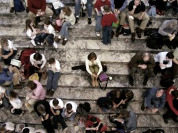 Are you alone in a crowd?