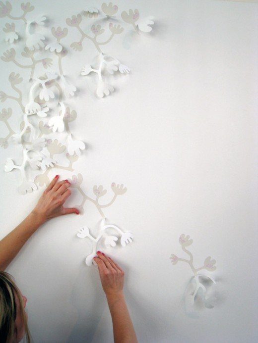 3d wallpaper by Hanna Nyman