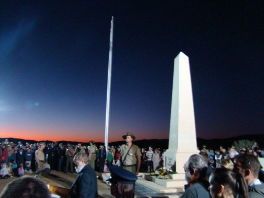 Gallipoli-Turkey Dawn Service attended by many Australians
