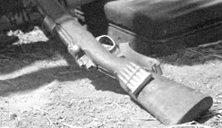 The barrel of the loaded rifle was my pressing into my stomach