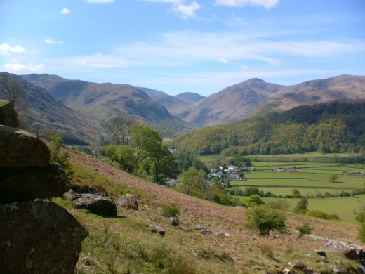 Rosthwaite and Borrowdale Valley. Among the breathtaking scenery in the Lake District. Photograph courtesy of Steve Mason -Licensed for reuse.