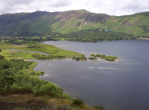 The magnificent view of Derwent Water. Photograph courtesy of Angel Storm.