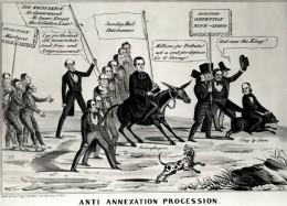 Opposition to Annexation Satirized, 1844