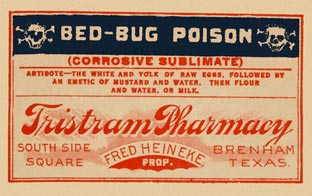 from Vintage Poison Labels