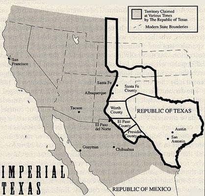 The Republic of Texas, 1836-46