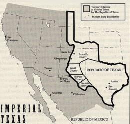 The Republic of Texas, 1836-46
