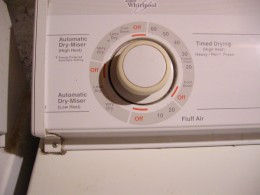 Timer control of Whirlpool Dryer