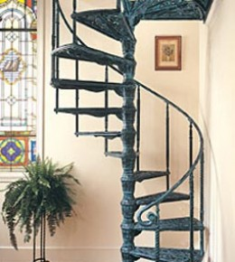Victorian Iron staircase from theironshop.com